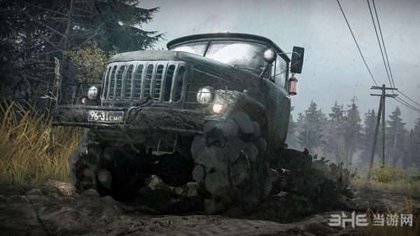 旋转轮胎:泥泞奔驰截图0