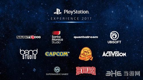 索尼PSX2017参展厂商