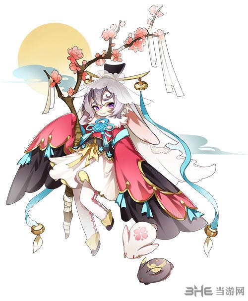 在游戏中分为医仙,武仙,法仙和玄仙等不同类型仙人,嫦娥是可爱软萌的