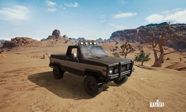 新载具沙漠皮卡车1