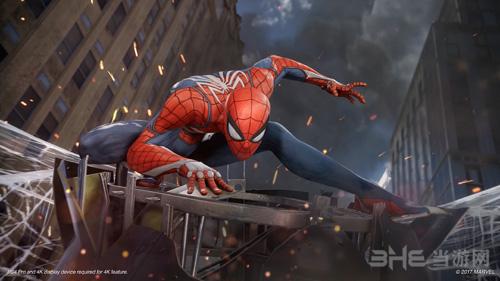 蜘蛛侠游戏图片