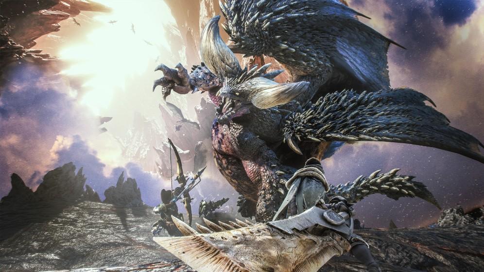 怪物猎人世界高清壁纸 诸多怪物都进化了