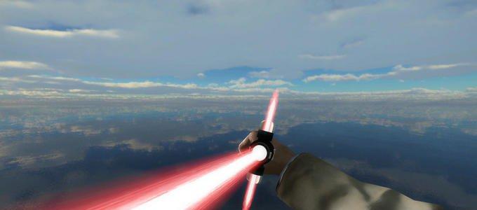 求生之路2星球大战绝地武士十字光剑MOD截图2