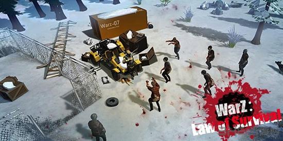 僵尸战争:生存法则破解版截图1