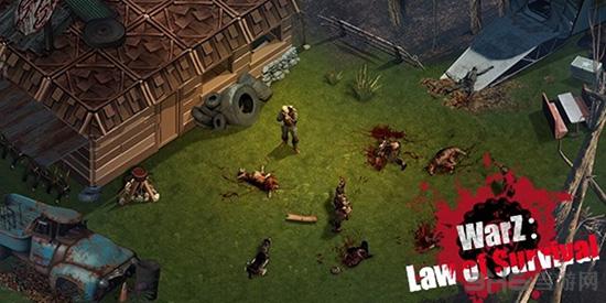 僵尸战争:生存法则截图2