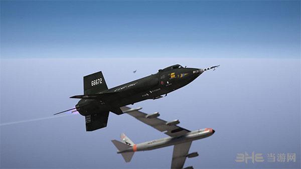 侠盗猎车手5X-15超音速火箭飞机NB-52母机MOD截图0