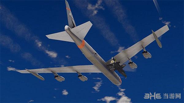 侠盗猎车手5X-15超音速火箭飞机NB-52母机MOD截图3