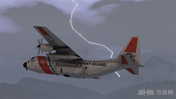 侠盗猎车手5USCG C-130大力士空战运输机整合包MOD截图0