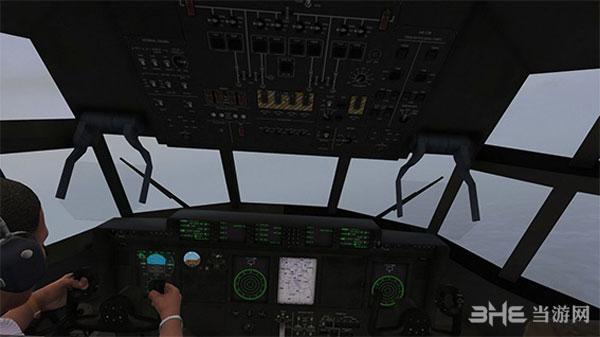 侠盗猎车手5USCG C-130大力士空战运输机整合包MOD截图2