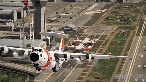 侠盗猎车手5USCG C-130大力士空战运输机整合包MOD截图4