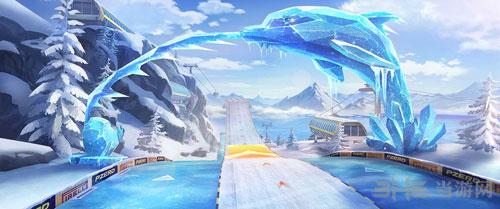 QQ飞车手游冰川滑雪场截图1