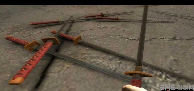 求生之路2黄金忍者刀MOD截图1