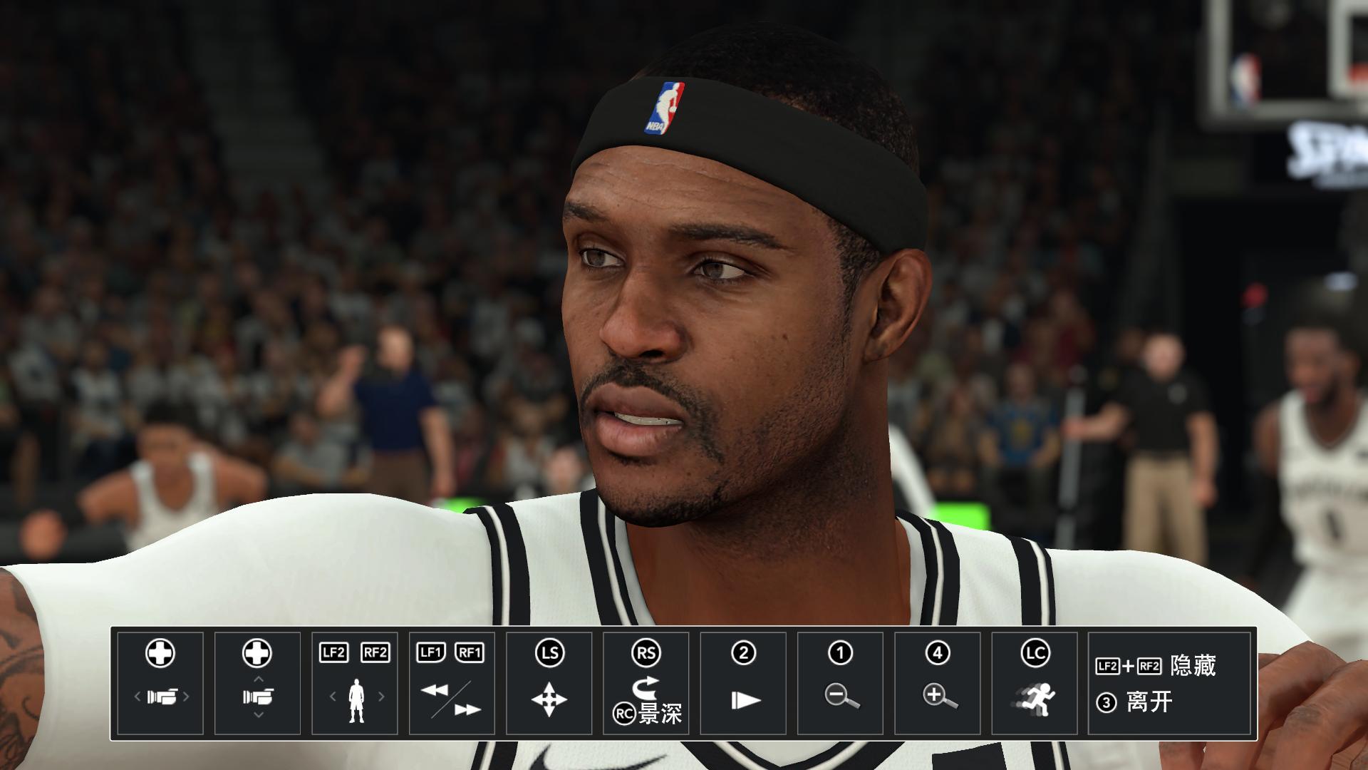 NBA 2K18篮网队布克身形发型面补MOD截图0