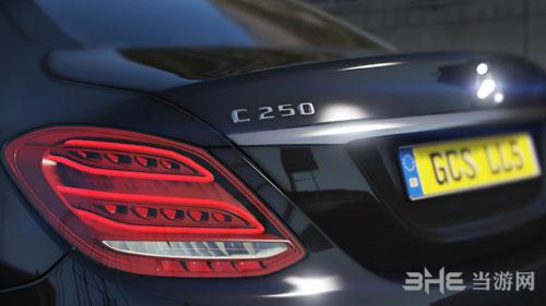 侠盗猎车手5 2014款梅赛德斯-奔驰C 250 AMG Line轿跑车MOD截图1