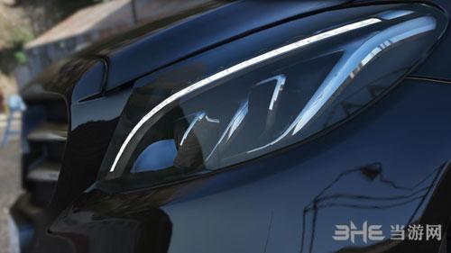 侠盗猎车手5 2014款梅赛德斯-奔驰C 250 AMG Line轿跑车MOD截图2