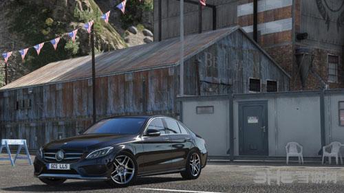 侠盗猎车手5 2014款梅赛德斯-奔驰C 250 AMG Line轿跑车MOD截图3