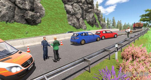 高速公路交警模拟2截图1
