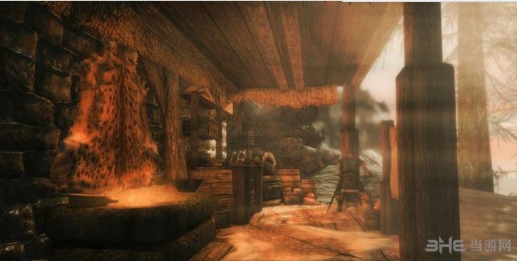 上古卷轴5:天际重制版寒水小屋MOD截图0