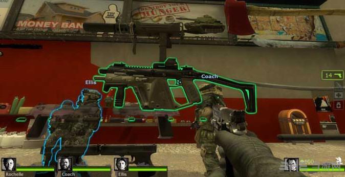 求生之路2 KRISS Vector冲锋枪MOD截图0