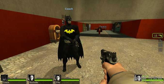 求生之路2蝙蝠侠 to Coach MOD截图0