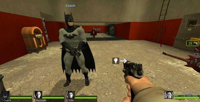 求生之路2蝙蝠侠 to Coach MOD截图2