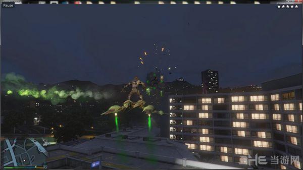 侠盗猎车手5绿魔+绿魔飞行器MOD截图0