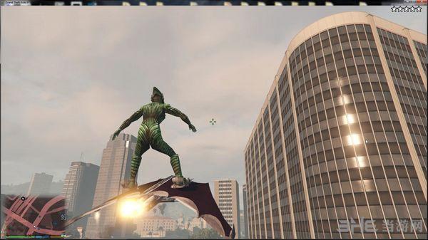 侠盗猎车手5绿魔+绿魔飞行器MOD截图2