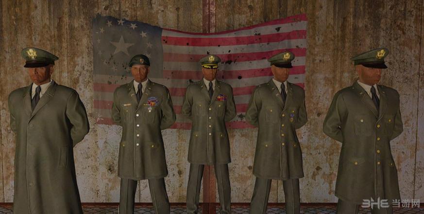 辐射4美国陆军军官常服MOD截图0