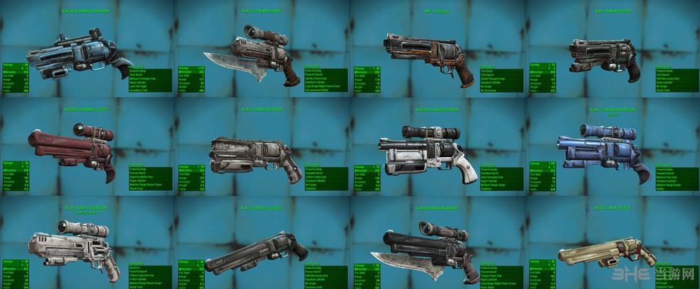 辐射4无主之地枪械包MOD截图0