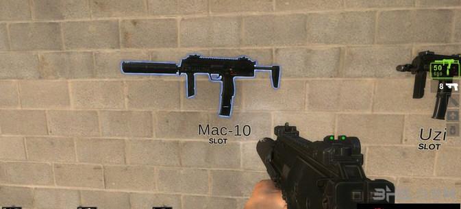 求生之路2超级MP7 MOD截图2