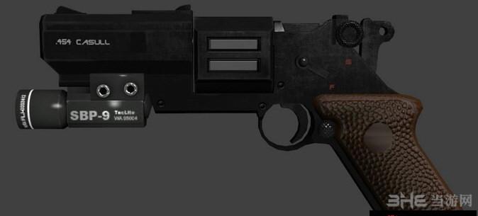 求生之路2兰斯塔2K17自动左轮手枪MOD截图1