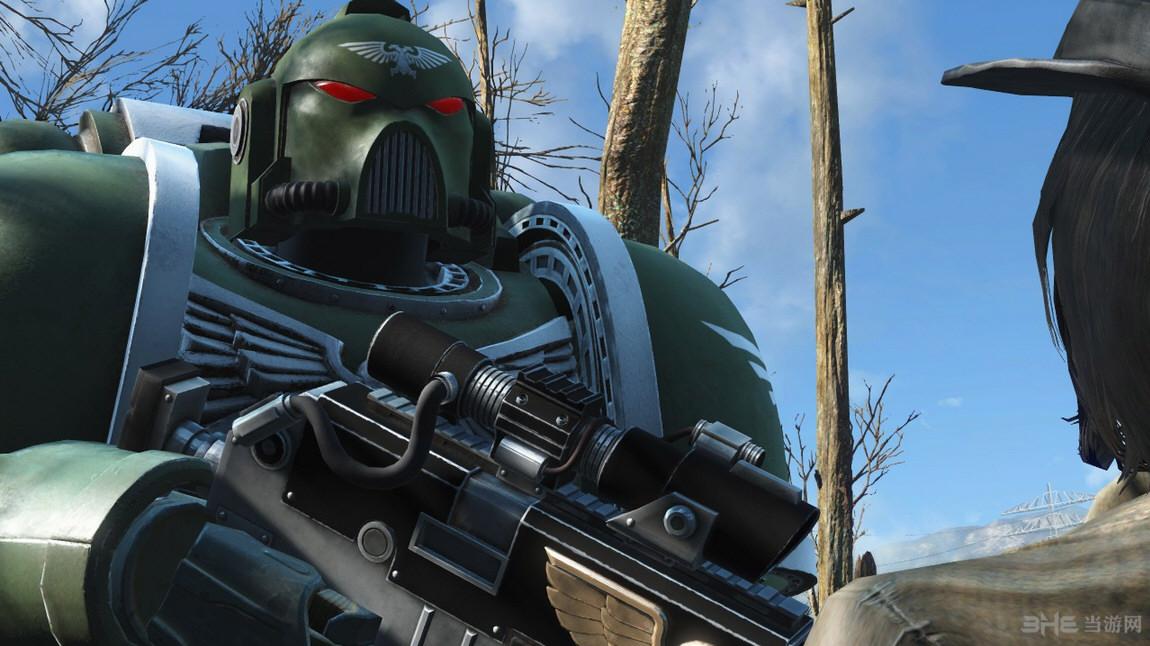 辐射4战锤40000动力甲MOD截图0