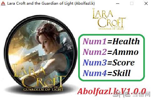劳拉与光明守护者四项修改器截图0
