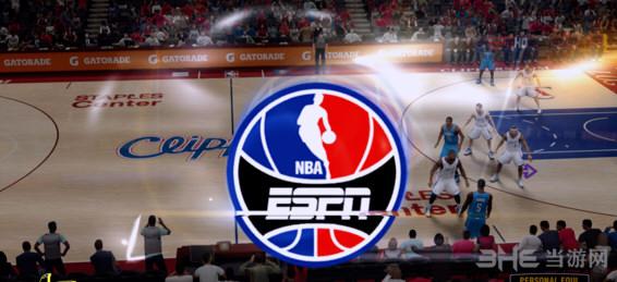 NBA2K14ESPN高清台标及回放截图1