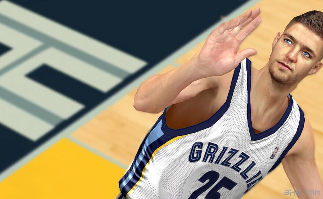 NBA2K14钱德勒帕森斯面补截图0