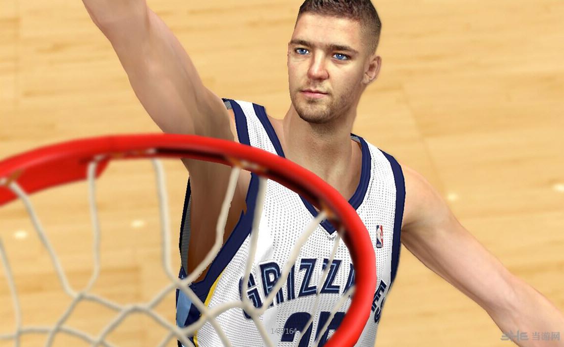 NBA2K14钱德勒帕森斯面补截图1