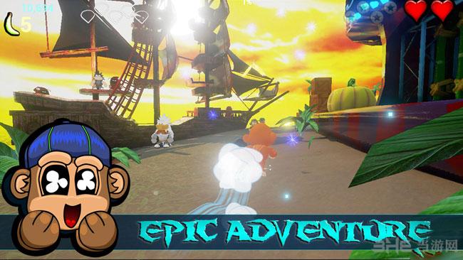 猴子大陆3D:收割者冲击截图2