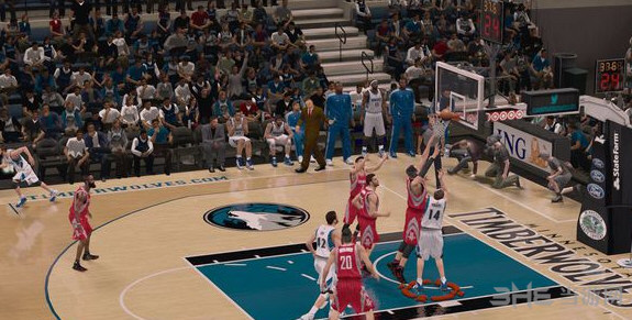 NBA2K14仿2K15效果次时代光影流汗画面身形Global截图2