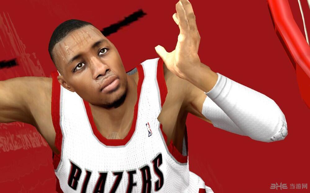 NBA2K14柯震东作品仿次时代利拉德面补截图0
