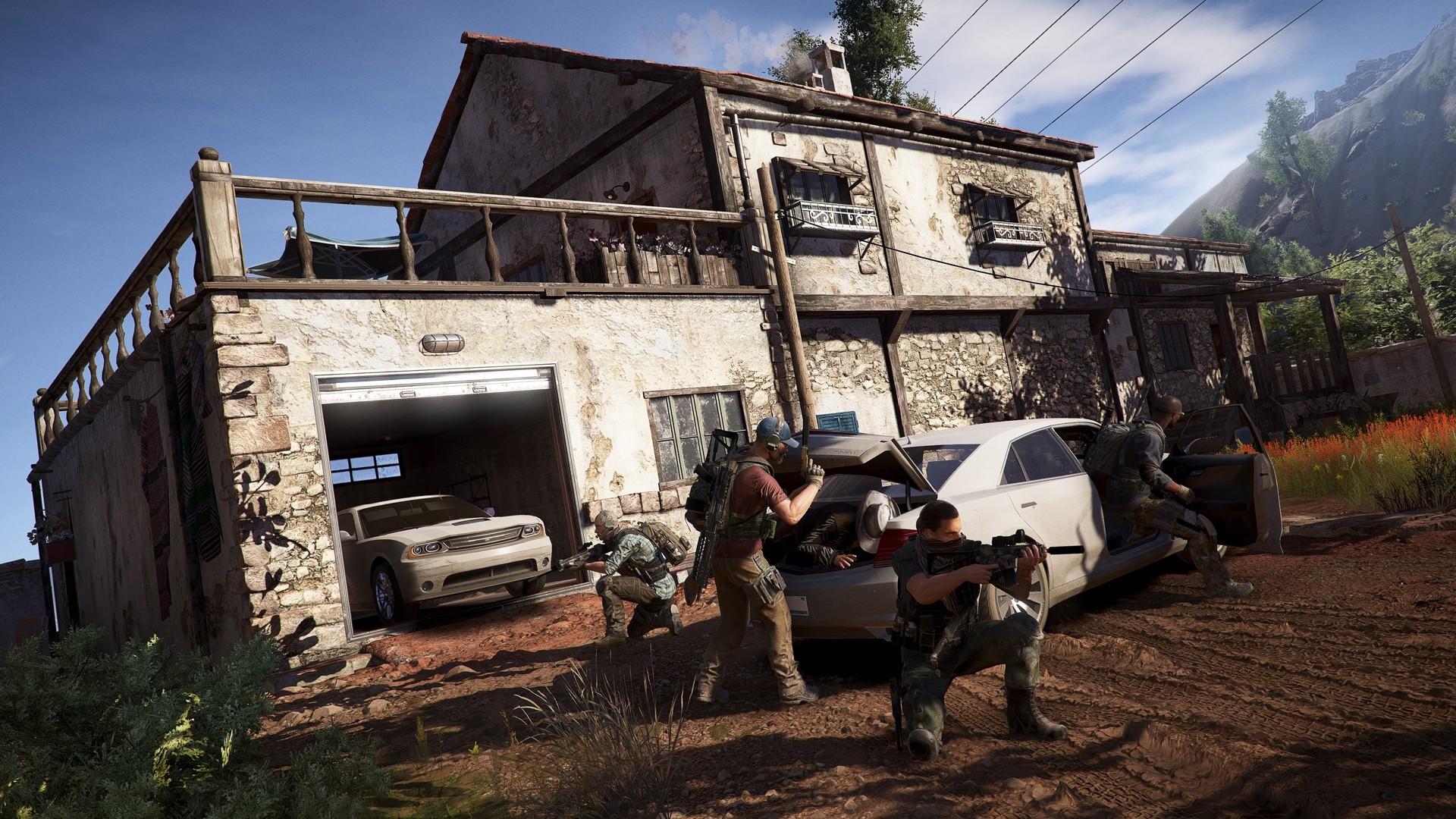 幽灵行动荒野PC版游戏截图 沙盒画风令人震