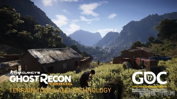 GDC 2017游戏开发者大会即将到来了,各大厂商开始大显神威,今天育碧公布了旗下游戏《幽灵行动:荒野》的技术宣传片,展示了游戏地貌打造过程。 GDC 2017游戏开发者大会即将到来了,各大厂商开始大显神威,今天育碧公布了旗下游戏《幽灵行动:荒野》的技术宣传片,展示了游戏地貌打造过程。 宣传片视频: 为了还原南美洲国家玻利维亚的风土人情,育碧在游戏中加入了多种生态环境。透过视频,我们看到《幽灵行动:荒野》的开放世界很美,有白雪皑皑的高山,有农牧平原,也有高低起伏的山间小路。 《幽灵行动:荒野》预计将在3月
