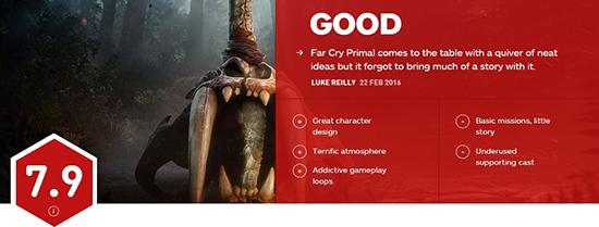 孤岛惊魂原始杀戮IGN评分截图1