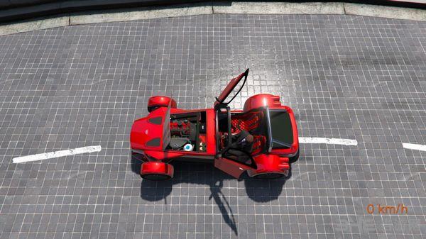侠盗猎车手5荷兰Donkervoort变速车D8 GTO MOD截图4