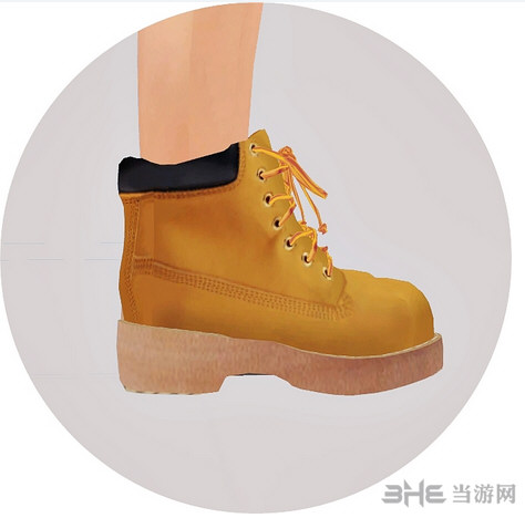 模拟人生4 24色高帮帆布鞋MOD截图1