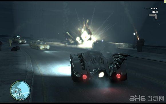 侠盗猎车手4蝙蝠侠主题整合MOD截图2