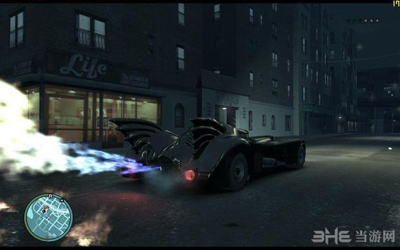 侠盗猎车手4蝙蝠侠主题整合MOD截图3