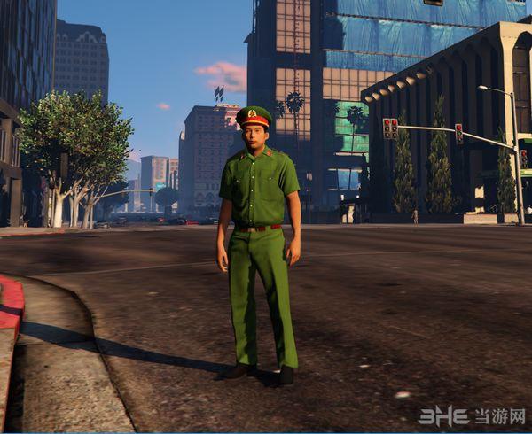 侠盗猎车手5越南警察MOD截图0