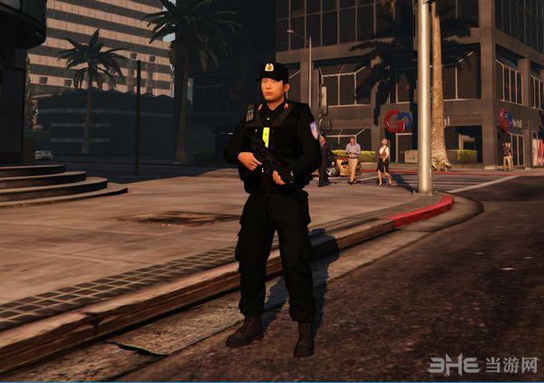 侠盗猎车手5越南警察MOD截图1