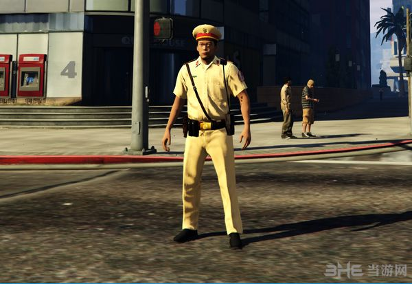 侠盗猎车手5越南警察MOD截图4
