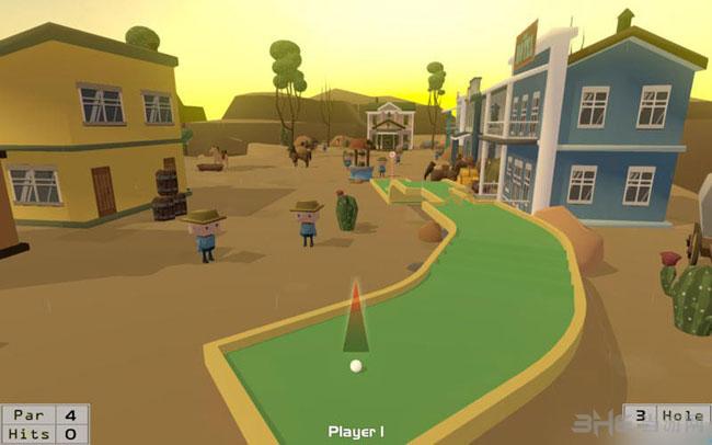 迷你冒险高尔夫球截图3